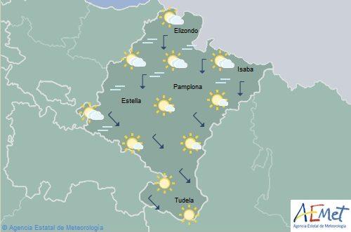 En Navarra temperaturas máximas en aumento