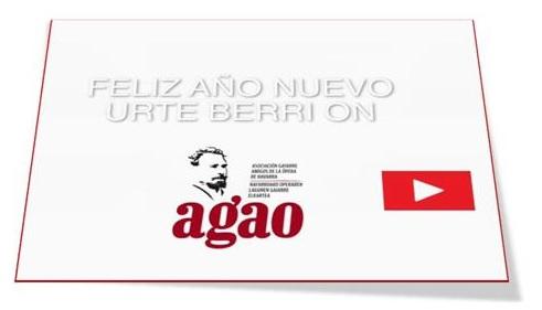 Vídeo.- AGAO felicita el Año 2019 y la Navidad