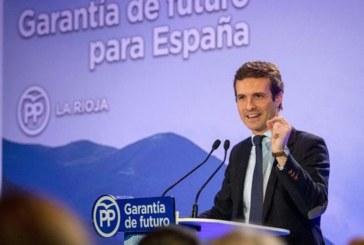 """Casado acusa a Sánchez de vender a España por el """"plato de lentejas"""" de seguir en La Moncloa"""