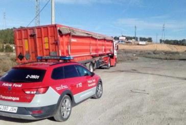 Denunciado un camionero por alcohol, drogas e incumplir una restricción