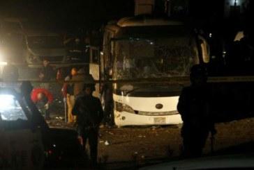 Mueren al menos tres turistas y el guía por la explosión de una bomba al paso de un autobús en Egipto