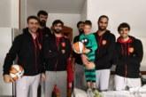 Navidad 2018: Jugadores de Basket Navarra visitan a los niños ingresados en el CHN