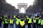 """59 detenidos en París en las protestas de los """"chalecos amarillos"""""""