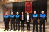 Cuatro nuevos inspectores en la Policía Municipal de Pamplona