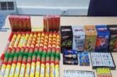 Intervenidos en Pamplona más de 8 kilos de material explosivo pirotécnico