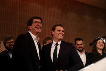 Rivera: «Vamos a echar al PSOE de la Junta de Andalucía»