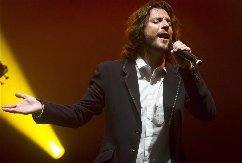 Manuel Carrasco actuará en el Navarra Arena el 5 de octubre