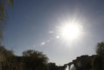 Fin de semana casi primaveral con temperaturas por encima de los 20 grados