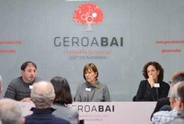 Geroa Bai valora su responsabilidad en la gestión para garantizar el cambio