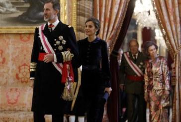 SSMM los Reyes presiden la Pascua Militar en el Palacio Real