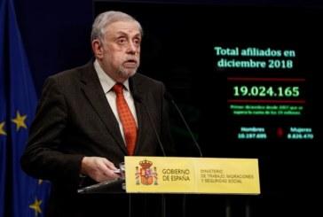 La Seguridad Social sumará una deuda de 56.355 millones con el Estado en 2019