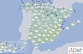 Hoy en España, temperaturas bajas en la mitad norte y lluvias fuertes en Canarias
