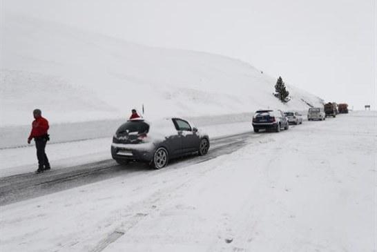 Alerta amarilla en Navarra por nieve con la cota sobre 700 metros y descenso de las temperaturas