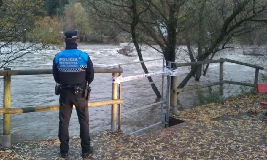Pamplona desactiva la alerta por inundaciones al descender el caudal del Arga