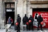 Policías forales destacan la falta de colaboración de los okupas de Rozalejo