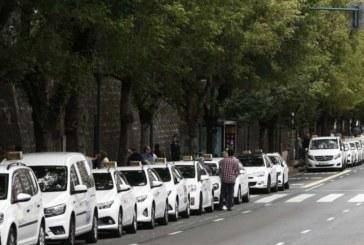 Solana cree que el sector del taxi en Navarra no tiene los mismos problemas