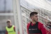 """David García: """"Queremos dar lo mejor de nosotros ante el Zaragoza"""""""