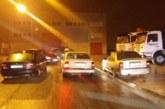 Tres denunciados por hacer carreras en el polígono de Areta, en Huarte