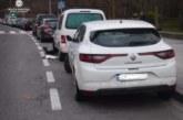 Conductora da positivo en alcohol tras chocar contra varios coches aparcados