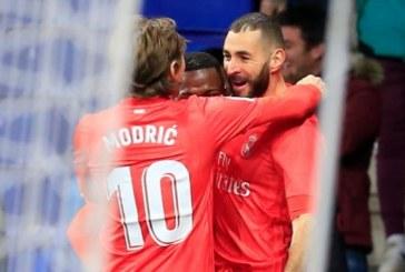 2-4. Benzema lidera la victoria del Real Madrid frente al Español