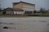 Desalojado un colegio en Larráinzar por el desbordamiento del río Ulzama