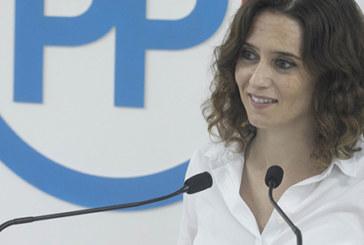 """Isabel Díaz Ayuso (PP): """"VOX es derecha no extrema y Cs centro izquierda"""""""