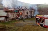 Un incendio sin heridos destruye un caserío en Errazu (Navarra)