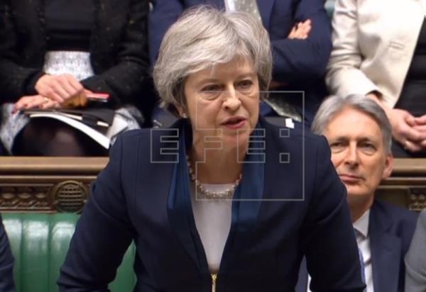 May admite que no tiene suficientes votos para aprobar su acuerdo de «brexit»
