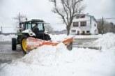 Seis carreteras cortadas por inundación en Navarra y cuatro por nieve