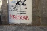 UPN exige la retirada de pintadas por la amnistía de los presos de ETA en Pamplona
