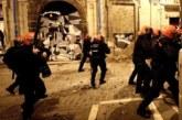 La Policía foral entra en Rozalejo y se producen incidentes en el casco viejo