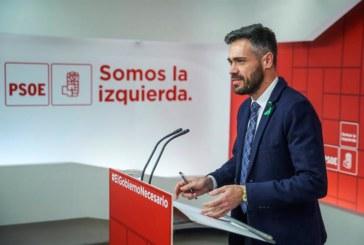 El PSOE asegura que no va a «desfallecer» para sacar adelante los presupuestos