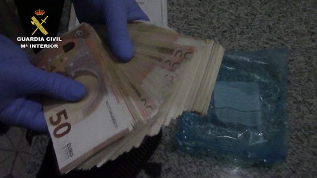 Desarticulada en Andalucía una organización que falsificaba billetes