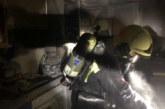 Cuatro intoxicados leves en los incendios de dos viviendas ocurridos en Pamplona y Los Arcos