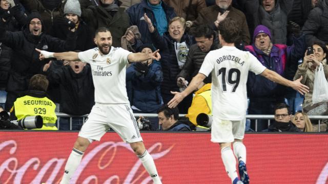 3-0. Benzema, Vinicius y Mariano dan la quinta victoria consecutiva al Madrid