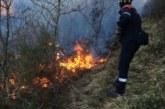 Riesgo alto de incendios en Navarra