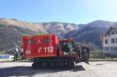 Vehículo de rescate en nieve para bomberos voluntarios de Valcarlos (Navarra)
