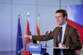 Casado dice que el PP ha evitado que España se arruinara por tercera vez