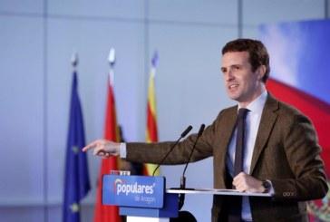 Casado: Gracias al PP se ha detenido la venta de España a los independentistas
