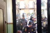 Siete detenidos al tratar de impedir un desahucio múltiple en Lavapiés