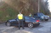 La Guardia Civil identifica a varios conductores de carreras ilegales en Navarra