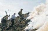 Autorizadas en Navarra las quemas de rastrojeras