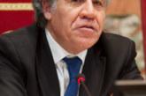 """Luis Almagro (OEA) confía en que la ayuda humanitaria llegue a Venezuela """"de forma pacífica"""""""