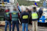 Desarticulada una organización que introducía cocaína en transoceánicos desde Sudáfrica