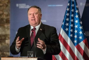 """Pompeo: """"La paz en Oriente Medio es imposible sin enfrentarse con Irán"""""""