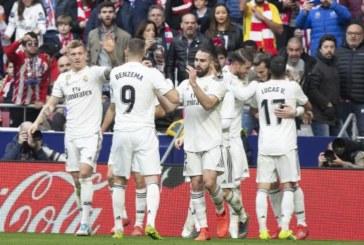 El Real Madrid gana en el Metropolitano y cree en la Liga (1-3)