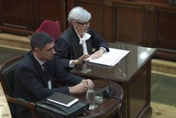 Juicio proceso: Trapero se ofreció al TSJC para detener a Puigdemont y al Gobierno catalán tras la DUI