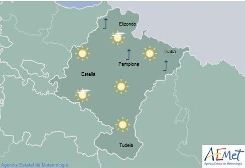 En Navarra temperaturas máximas en ascenso notable