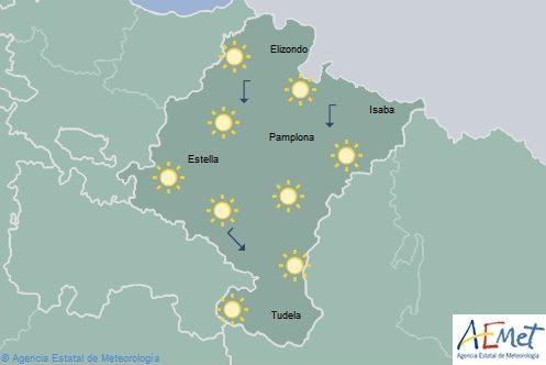En Navarra descenso de temperaturas mínimas