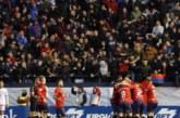 3-0. Osasuna reafirma el liderato con la undécima victoria seguida en El Sadar